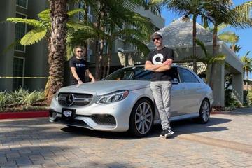Mercedes E63 AMG in recordtijd van New York naar LA