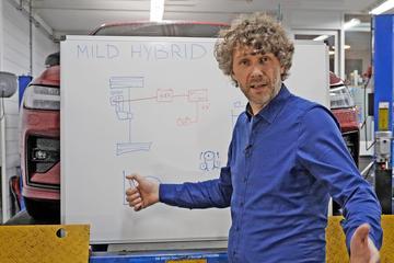 Mild hybrid - Cornelis schetst