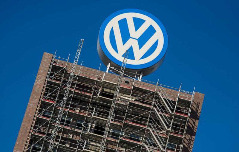 Volkswagen logo (foto ANP)
