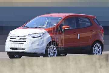 Ford Ecosport-facelift laat nieuwe neus zien