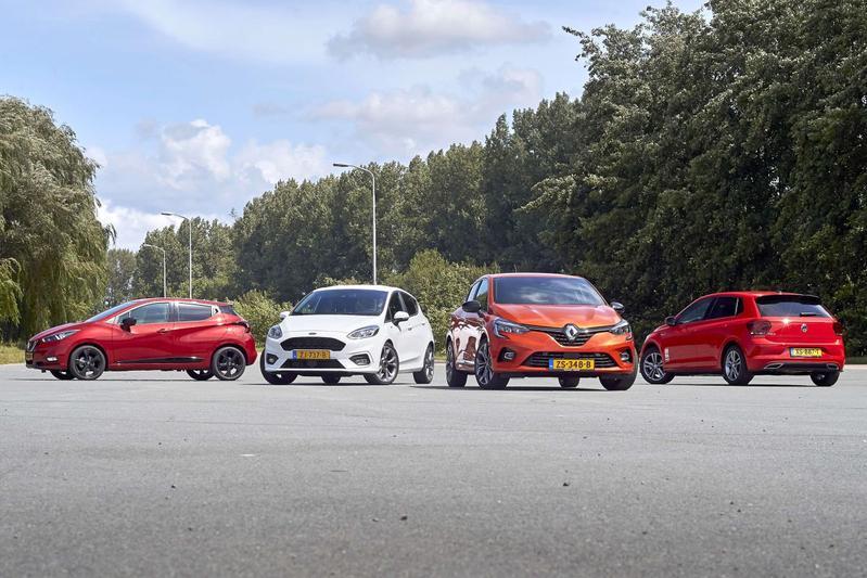 Ford Fiesta - Nissan Micra - Renault Clio - Volkswagen Polo - Multitest