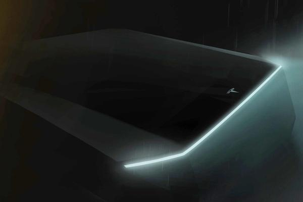 Onthulling Tesla's pick-up later deze maand