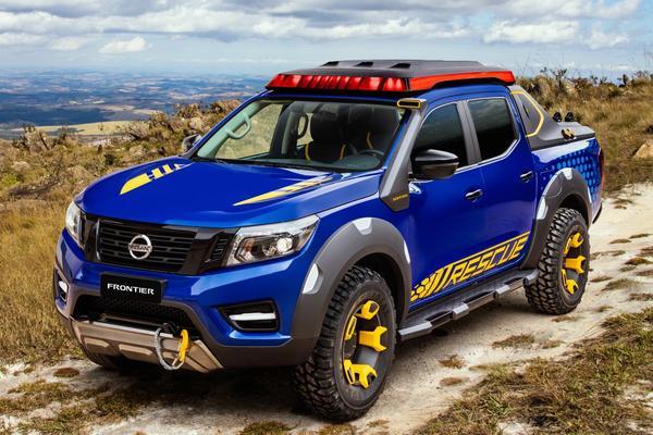 Nissan presenteert Frontier Sentinel-concept