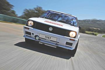 Volkswagen Golf Pikes Peak (1987) - Reportage