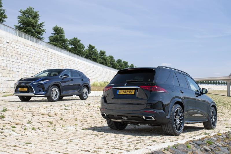 Lexus RX vs. Mercedes-Benz GLE