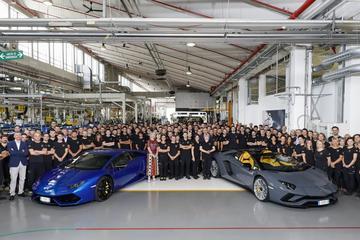 Dubbele productiemijlpaal voor Lamborghini