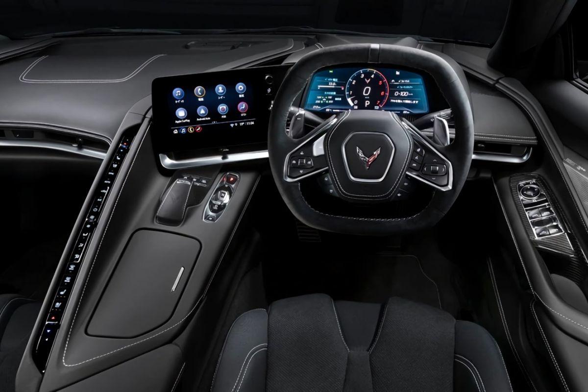Chevrolet Corvette Stingray rechtsgestuurd RHD