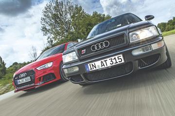 Oud & Nieuw: Audi RS2 versus RS3 Limousine