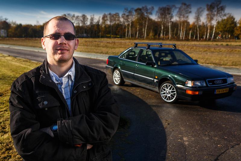 Klokje Rond - Audi V8 4.2 quattro