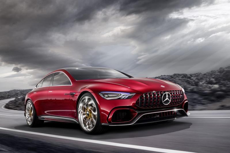 Officieel: Mercedes-AMG GT Concept