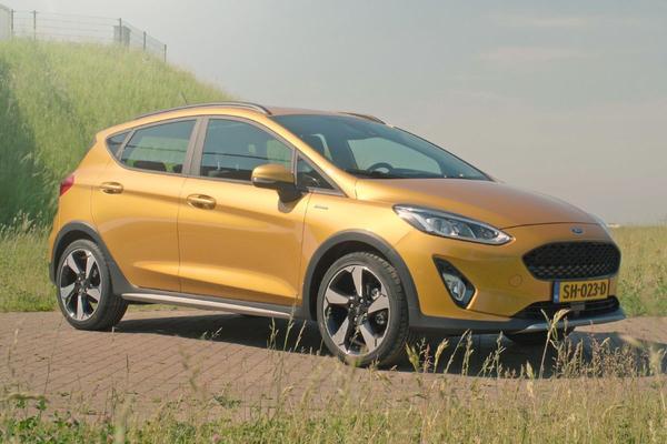 Video: Ford Fiesta Active - Rij-impressie