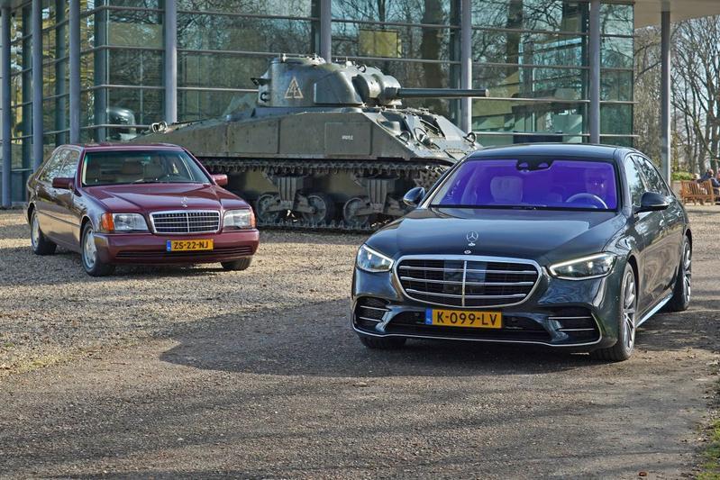 Mercedes-Benz S-klasse - Oud & Nieuw