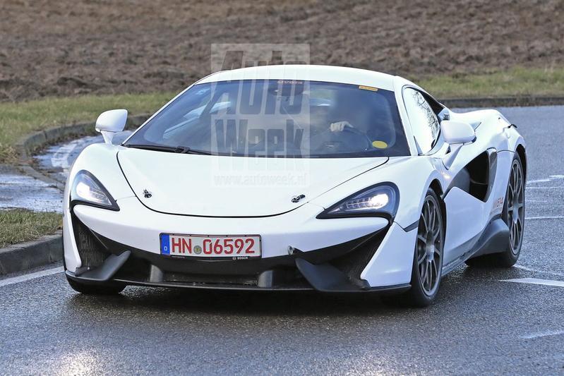 McLaren Sports Series mule