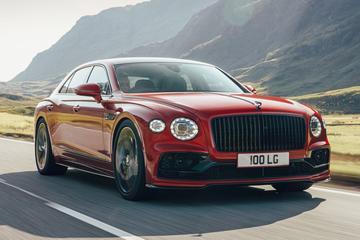 Bentley Flying Spur nu ook met V8