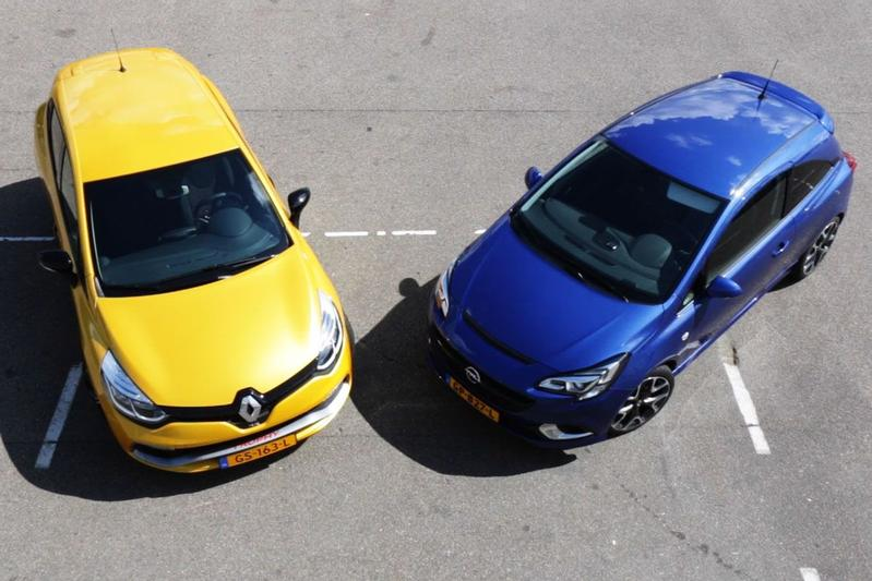 Dubbeltest: Opel Corsa OPC vs Renault Clio RS Trophy
