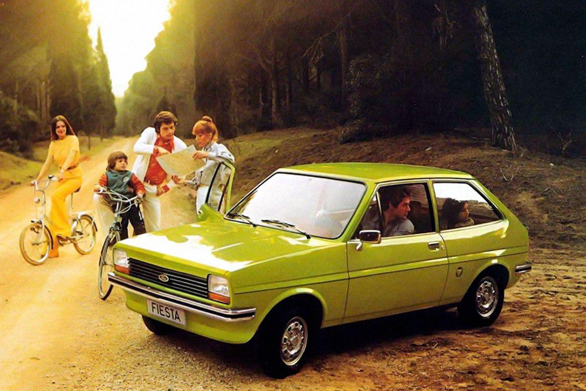 Ford Fiesta MK1 MK2 facelift friday