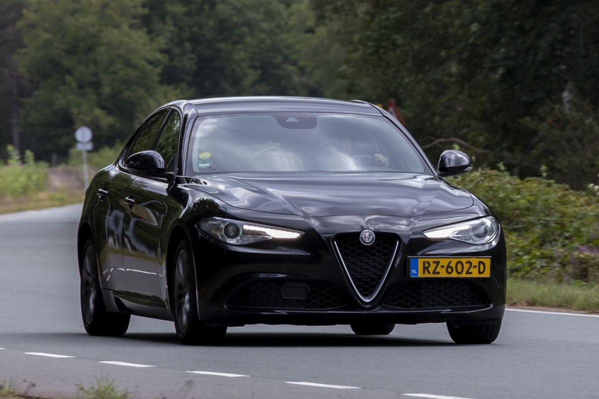 Alfa Romeo Giulia Rollenbank