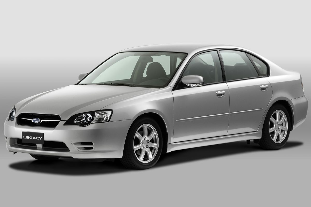 Facelift Friday Subaru Legacy