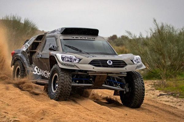 SsangYong Rexton klaar voor Dakar