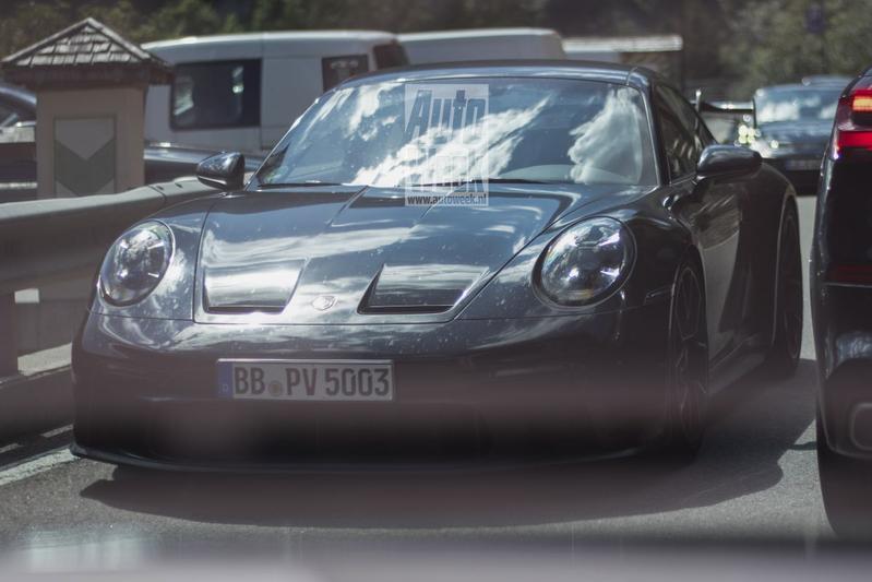 Porsche 911 GT3 spionage