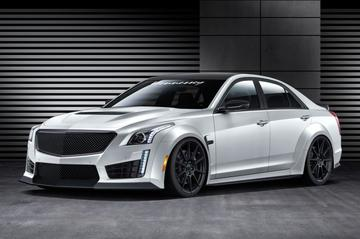 Cadillac CTS-V met 1.014 Hennessey-pk's