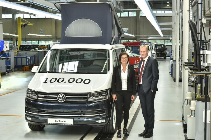100 000ste Volkswagen California Uit Hannover Autoweek Nl