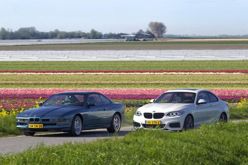 BMW 840 Ci - BMW 218i Coupé