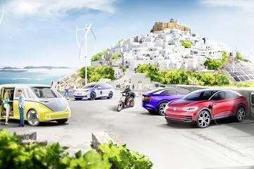 Volkswagen en Griekenland 'elektrificeren eiland'