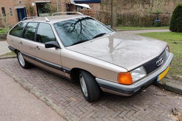 Audi 100 Avant (1987) - In het Wild