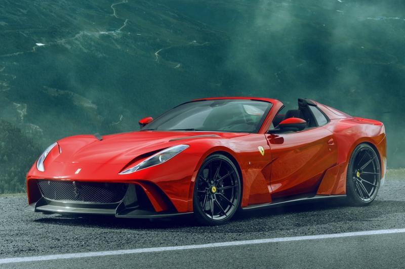 Ferrari 812 GTS uitgebouwd door Novitec