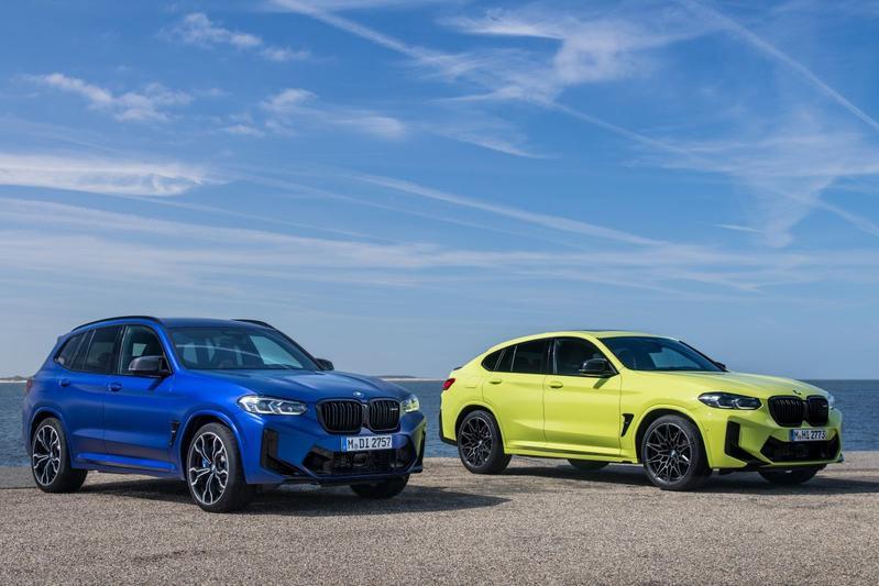 BMW X3 M en X4 M