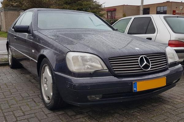 In het Wild: Mercedes-Benz CL600
