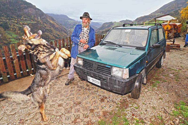 Fiat Panda populair in de Alpen - Reportage