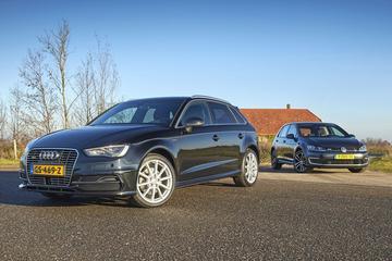 Audi A3 E-tron - Volkswagen Golf 1.4 TSI GTE - Occasiondubbeltest