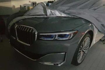 Vernieuwde BMW 7-serie toont front