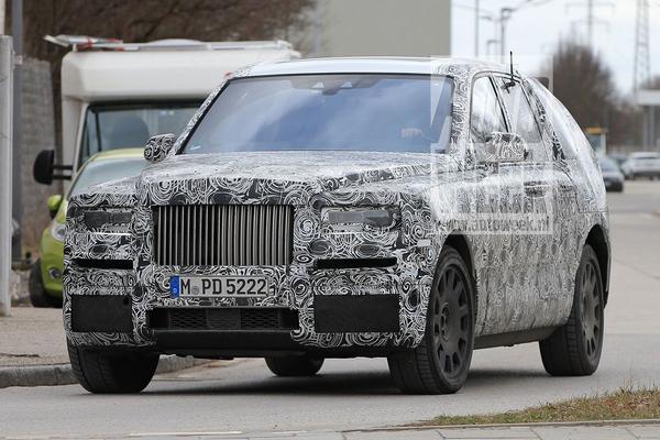 Voor de lens: Rolls-Royce Cullinan