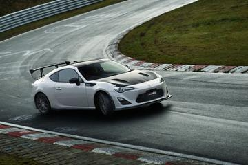 Toyota GT86 GRMN is los