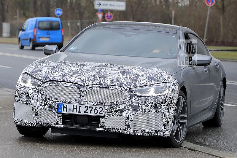 Spyshots BMW 8-serie