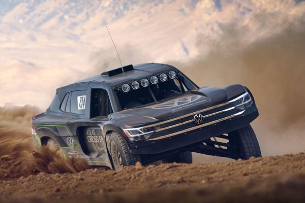 Volkswagen Atlas Cross Sport R klaar voor Baja-race