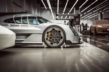 Nieuwe elektrische Porsche Macan te zien