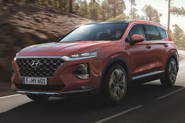 Hyundai Santa Fe in Europese trim