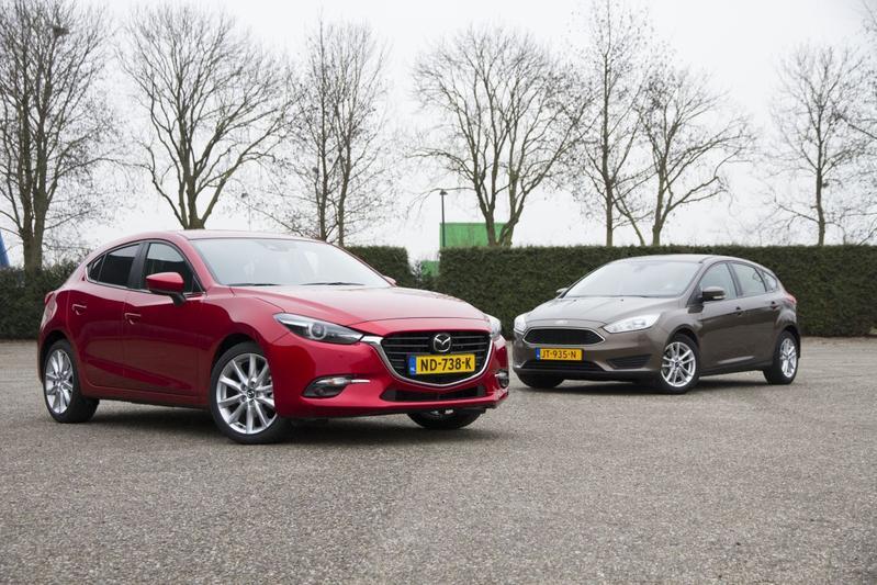 Ford Focus vs. Mazda 3 - Dubbeltest