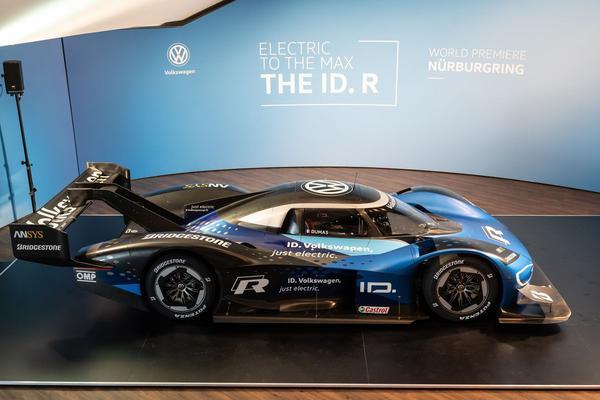 Volkswagen I.D. R klaar voor Nürburgring