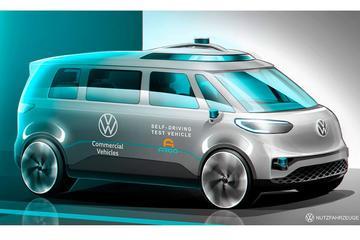 Volkswagen ID Buzz als eerste autonoom op weg