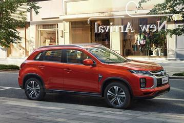 Chinese facelift voor Mitsubishi ASX