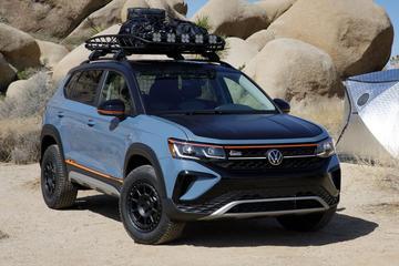 Volkswagen Taos avontuurlijk aangekleed als Basecamp