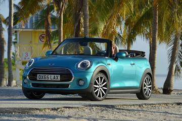 Mini Cabrio klaar voor de zomer van 2016