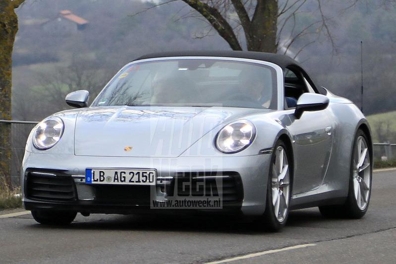 Porsche 992 911 cabriolet