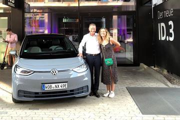 Volkswagen-topman Herbert Diess zelf op vakantie met ID.3