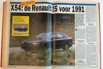 Toen in het nieuws: Renault Safrane